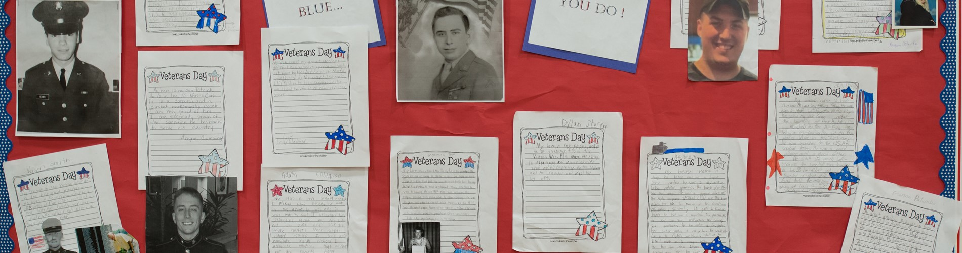 Students Honor Our Veteran's