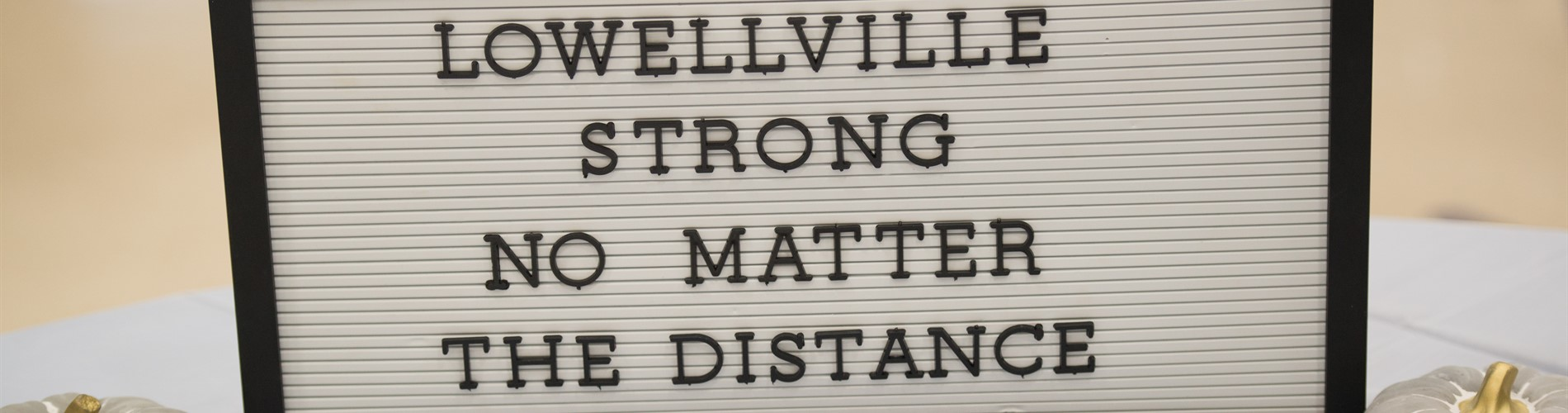 Lowellville Strong