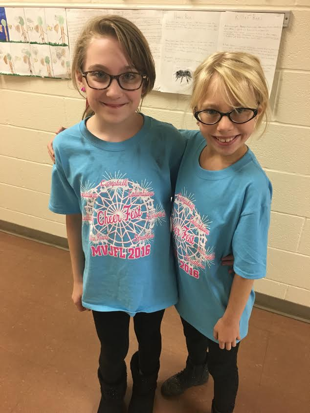 Rachel Speis and Destiny Hunsucker-Richards Twin Day!