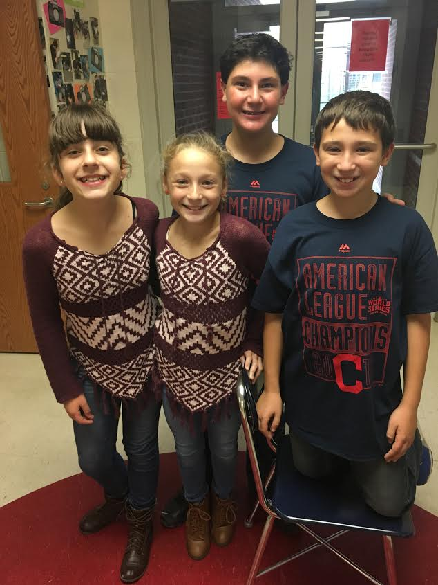 6th graders on twin day!