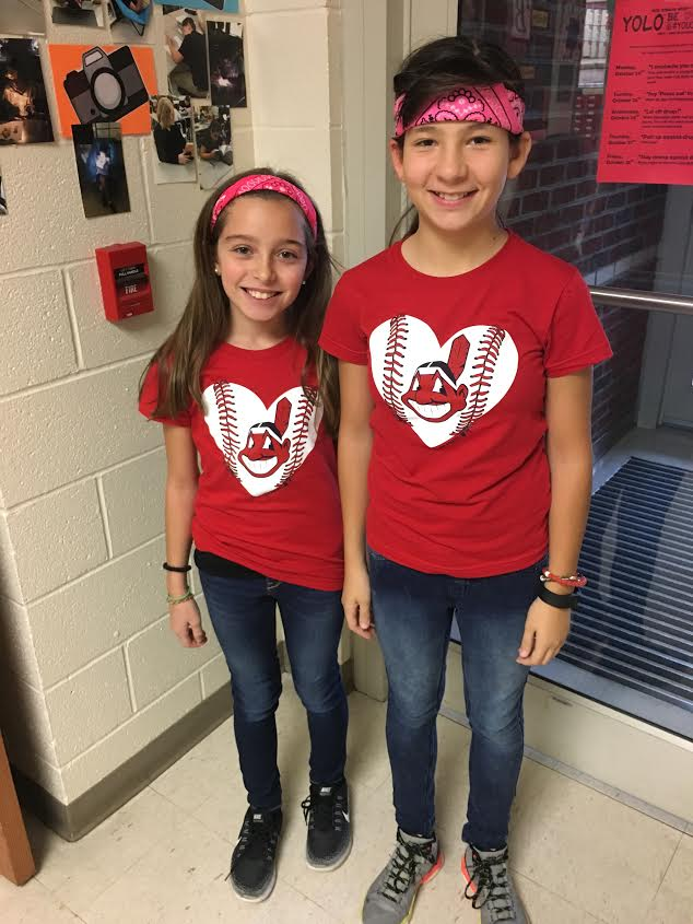 Sylvia Tsarnas and Frankie Lellio on Twin Day!