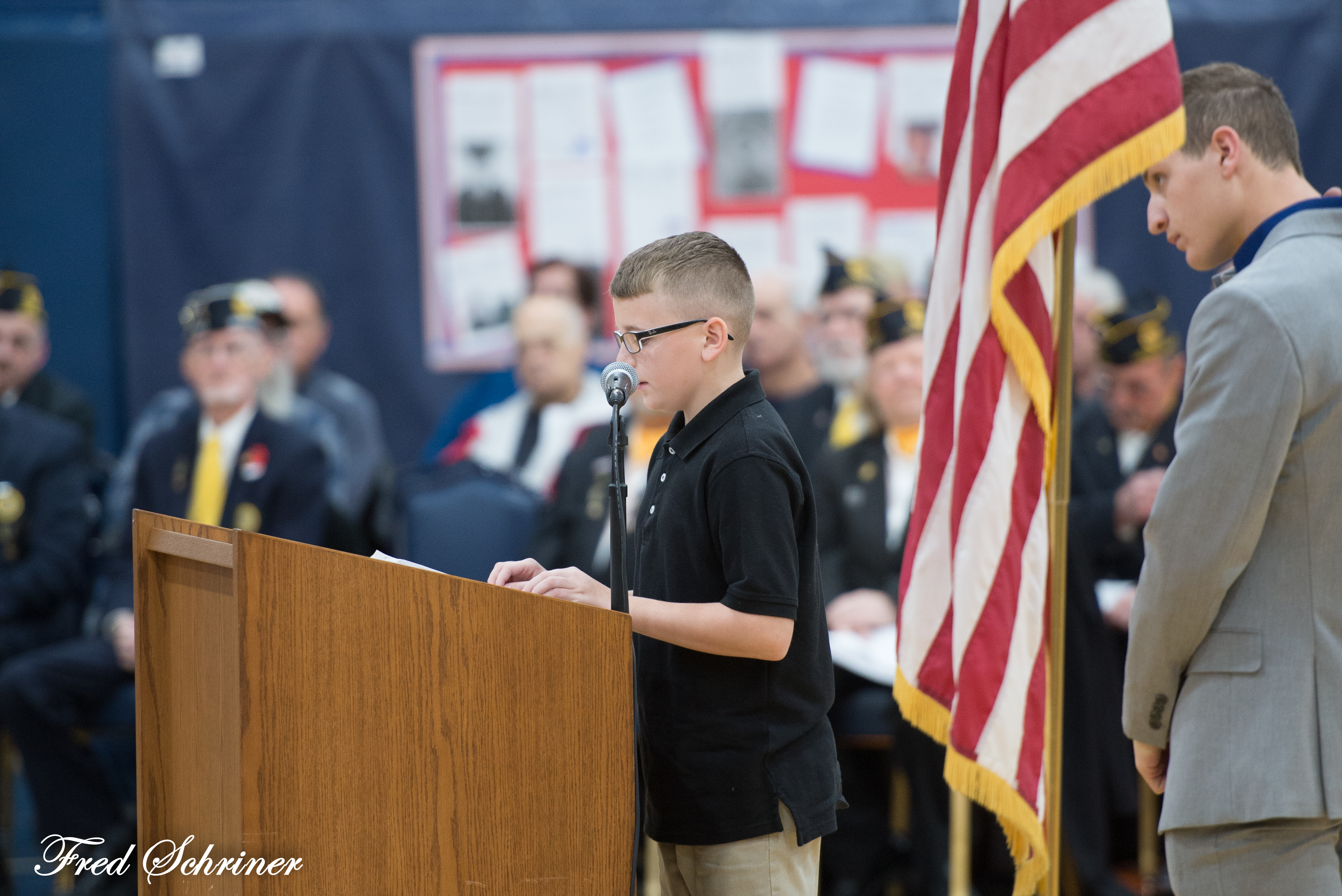 Student Honors Local Veterans