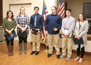 """Americanism Test"" award recipients"